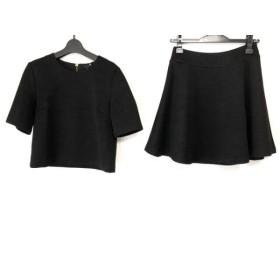 【中古】 アナイ ANAYI スカートセットアップ サイズ38 M レディース 黒