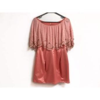 【中古】 ロイヤルパーティー ROYALPARTY ドレス サイズ38 M レディース ピンク ビーズ