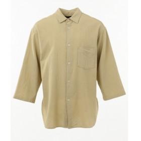 [マルイ]【セール】【洗える】パナマレギュラーカラー7分丈 シャツ/シェアパーク メンズ(SHARE PARK MENS)