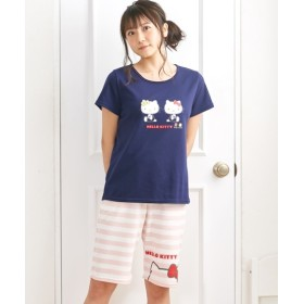 【WEB限定】ハローキティルームウェア上下セット (パジャマ・ルームウェア),Sleepwear