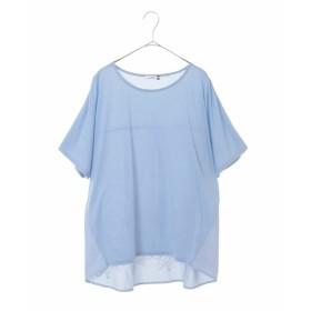 [マルイ]【セール】【大きいサイズ】バック刺繍Tシャツ/エウルキューブ(eur3)