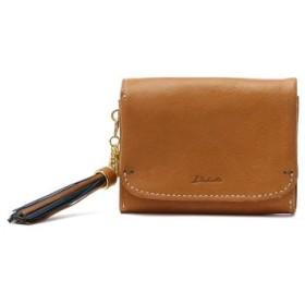 (GALLERIA/ギャレリア)ダコタ 二つ折り財布 Dakota アプローズ 財布 本革 0035181/レディース キャメル