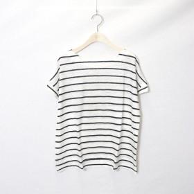 [マルイ]【セール】リネン天竺 ボーダーTシャツ(ONIGIRI)/コムサイズムレデイス(COMME CA ISM)