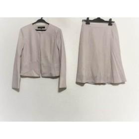 【中古】 リフレクト ReFLEcT スカートスーツ サイズ9 M レディース 美品 ライトピンク 新品タグ