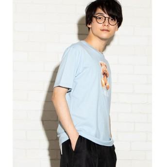 [マルイ]【セール】ベアモチーフTシャツ/ウィゴー(メンズ)(WEGO)