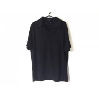 【中古】 セオリー theory 半袖ポロシャツ サイズ40 M レディース 黒