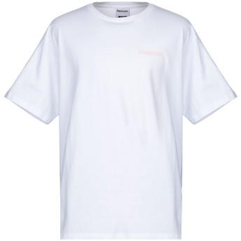 《セール開催中》PATERSON メンズ T シャツ ホワイト M コットン 100%