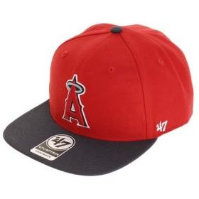 フォーティーセブン ブランド(47 Brand) ロサンゼルス エンゼルス キャップ Red B-SRSTT04WBP-RD (Men's)