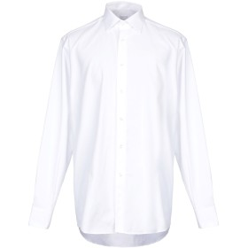 《期間限定 セール開催中》DOMENICO TAGLIENTE メンズ シャツ ホワイト 42 コットン 100%
