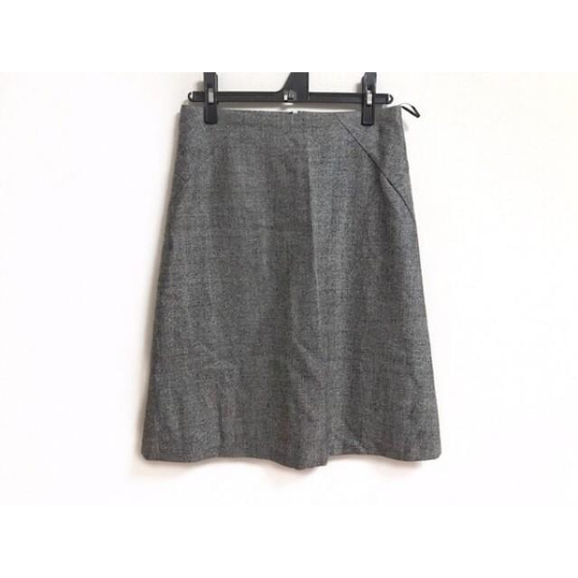 【中古】 セオリー theory スカート サイズ2 S レディース グレー マルチ