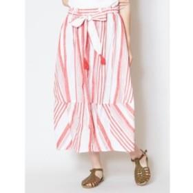 チャイハネ(CAYHANE)/【チャイハネ】yul インド綿ストライプコクーンスカート