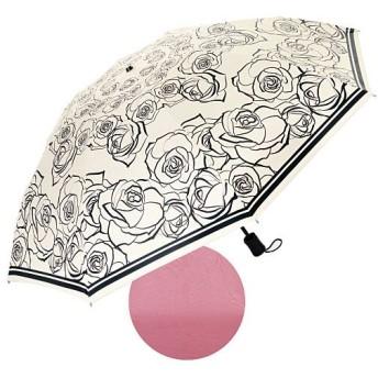 Fortuna 晴雨兼用折りたたみ遮熱日傘 - セシール ■カラー:ホワイト