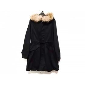 【中古】 パンソー PINCEAU コート サイズ38 M レディース 黒