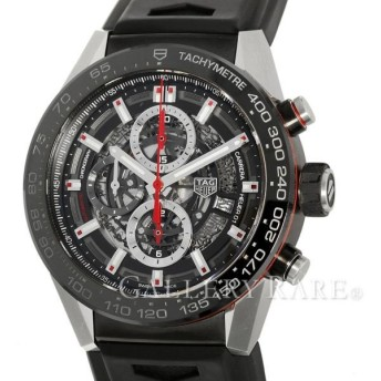 タグホイヤー カレラ クロノグラフ キャリバーホイヤー CAR2A1Z-0 TAGHEUER 腕時計 スケルトン文字盤