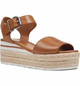 (Women) Natural Leather ナインウェスト シューズ レディース Nine West Laila Espadrille Wedge Sandal サンダル