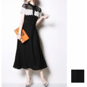 韓国 ファッション レディース ワンピース パーティードレス ロング マキシ 夏 春 パーティー ブライダル 【一部即納有】naloE801 結婚式