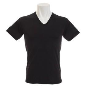 PGAC(PGAC) ドライプラスクール 半袖Vシャツ 891PA9RK1503BLK (Men's)
