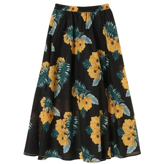 [マルイ]【セール】大花柄ロングギャザースカート/グリーンパークス(Green Parks)