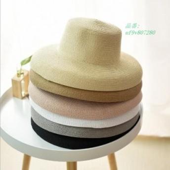 バケットハット 麦わら帽子 日よけ帽子 ファッション サンバイザー 旅行 帽子 つば広帽子 紫外線 新作 ハット 日よけ 代引不可 小顔効果