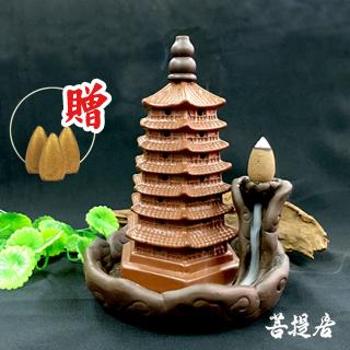 【菩提居】紫砂狀元及第文昌煙供爐(贈煉金香x3)