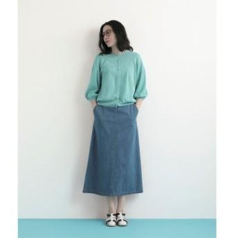 NIMES / ニーム DENIM/STRIPE スカート