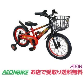 【お店受取り送料無料】アイデス ウィズフレンド Smile 16 カーズ レッド 変速なし 16型 子供用自転車