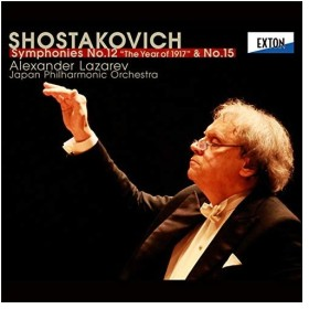 【取寄商品】CD/ラザレフ 日本フィル/ショスタコーヴィチ:交響曲 第12番「1917年」 第15番