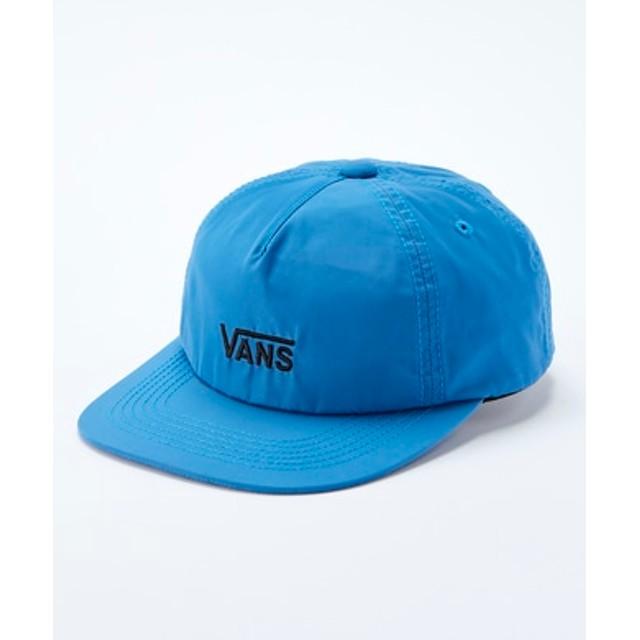 VANS 【WEB限定】カラーロゴキャップ キッズ ブルー
