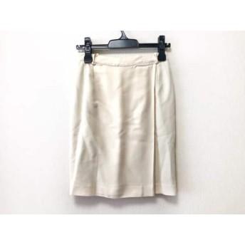 【中古】 エトロ ETRO スカート サイズ42 M レディース アイボリー