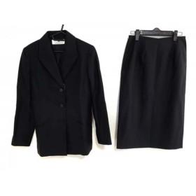 【中古】 ジバンシー GIVENCHY スカートスーツ サイズ38 M レディース ダークネイビー