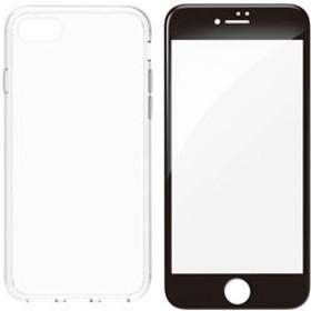 iPhone 8 Plus Turtle Pro ハイブリッドフルガードセット ブラック TRIP175TTPRCLBK