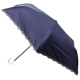 SHOO・LA・RUE/DRESKIP(シューラルー/ドレスキップ) 【晴雨兼用】フロ-ラルスカラップミニ傘