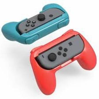Joy-Conハンドル グリップ ジョイコンハンドル Nintendo Switch専用 2個 任天堂 スイッチ レッド ブルーMYR