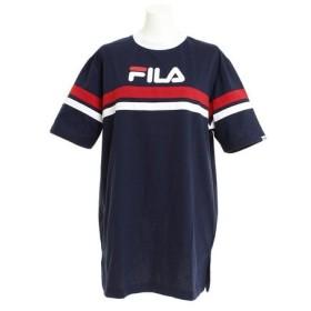 フィラ(FILA) 配色ラインBIGTシャツ FL5444-20 (Lady's)