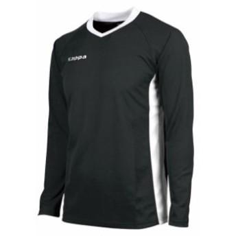 ゲームシャツ【Kappa】カッパサッカーゲームシャツ(KF412TL31-BK1)