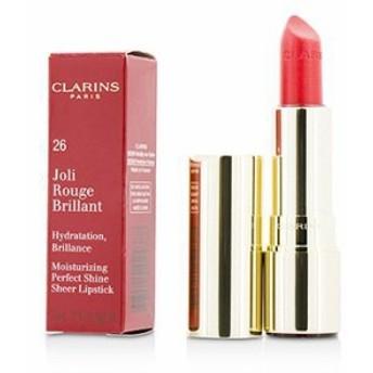 (口紅) クラランス ジョリ ルージュ ブリラン (Moisturizing Perfect Shine Sheer Lipstick) - # 26 Hibiscus 3.5g/0.1oz