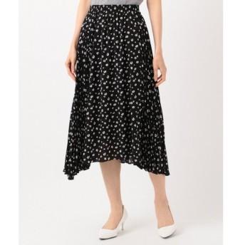 組曲 / クミキョク 【洗える】マーガレットドットプリーツ プリーツスカート