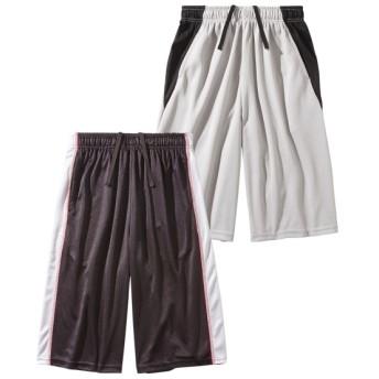 吸汗速乾 ブリスターハーフパンツ2枚組(男の子。女の子 子供服。ジュニア服) パンツ