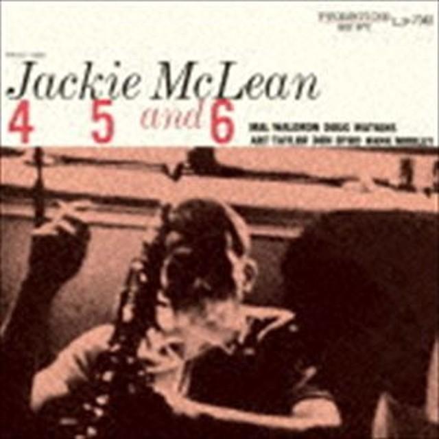 [CD] ジャッキー・マクリーン(as)/4、5&6(SHM-CD)