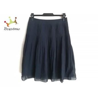 ニジュウサンク 23区 スカート サイズ32 XS レディース ダークネイビー スペシャル特価 20190821