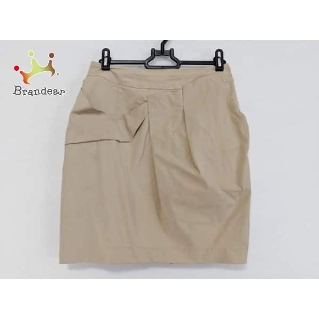 グレースコンチネンタル GRACE CONTINENTAL スカート サイズ36 S レディース ベージュ   スペシャル特価 20190821