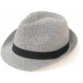 【50%OFF】 アー・ヴェ・ヴェ ペーパーMIX HAT メンズ ブラック M 【a.v.v】 【セール開催中】