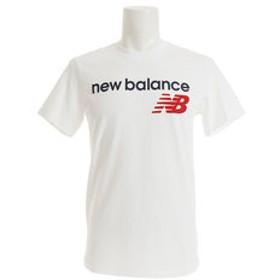 【Super Sports XEBIO & mall店:トップス】アスレチックスメインロゴTシャツ AMT73581WT