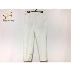 ニジュウサンク 23区 パンツ サイズ30 XS レディース 白   スペシャル特価 20190828