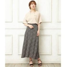 イング(INGNI)/小花柄Aラインスカート