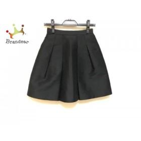ニジュウサンク 23区 スカート サイズ32 XS レディース 美品 黒   スペシャル特価 20190821
