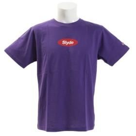 SLYDE(SLYDE) 半袖Tシャツ sl2019041002-PPL (Men's)