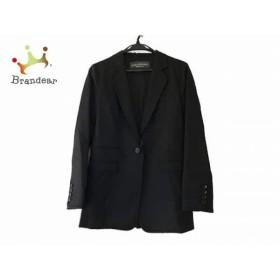 ボディドレッシングデラックス ジャケット サイズ38 M レディース 美品 黒 肩パッドなし 新着 20190510