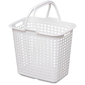 LBLPWHIRIS ランドリーバスケット ピュアホワイト8292365