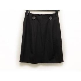 【中古】 セオリー theory スカート サイズX0 XL レディース ダークブラウン
